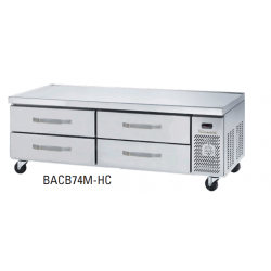 Blue Air BACB74M-HC 4 Drawers Chef Base 74""