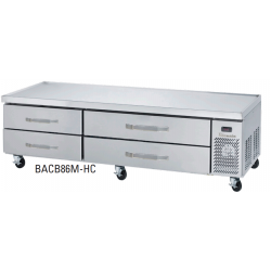Blue Air BACB86M-HC 4 Drawers Chef Base 86""