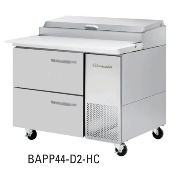 """Blue Air 2 Drawers 44"""" Model for BAPP Ending with 44-D2-HC"""