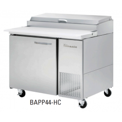 Blue Air BAPP44-HC 1 Door All Stainless Pizza Prep. Table