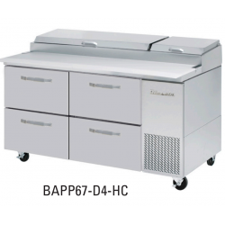"Blue Air 4 Drawers 67"" Model for BAPP Ending with 67-D4-HC"