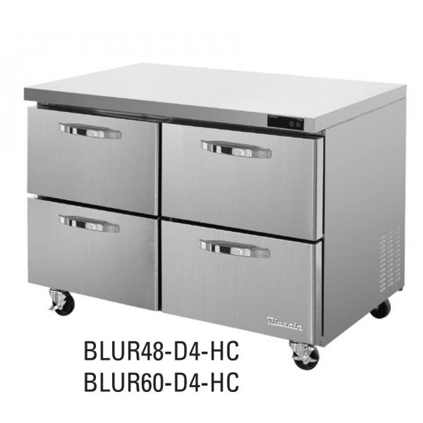 "Blue Air BDR-60R 60"" Model Refrigeration Drawern for BLUR/BLPT/BLMT, Drawer 2ea-1set, Right Section"