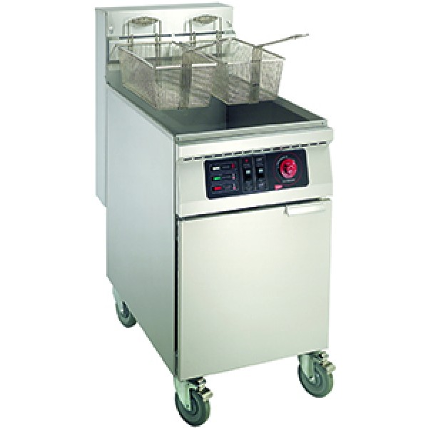 Grindmaster Cecilware EFS65 65 lbs. Stainless Steel Floor Model Electric Fryers