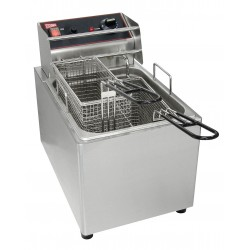 Grindmaster Cecilware EL15 15 lbs. Countertop Electric Fryers with 2 Baskets, 120 V