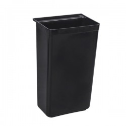 "Thunder Group PLBC0013B 13"" x 9 1/4"" x 22' Refuse Bin for PLBC3316G and PLBC4019G"