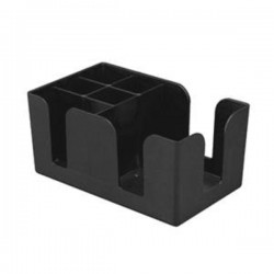 Thunder Group PLBC006 Plastic Bar Caddy, 6 Compartment