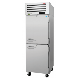 Turbo Air PRO-26-2F-N PRO Series 2 Half Solid Door Reach-in freezer, One-section