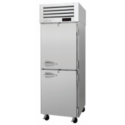 Turbo Air PRO-26-2H PRO Series Half Solid Door Reach-in Heated Cabinet, One-section
