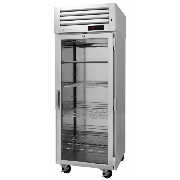 Turbo Air PRO-26H-G PRO Series Glass Door Reach-in Heated Cabinet, One-section