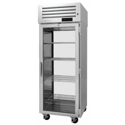 Turbo Air PRO-26H-G-PT PRO Series Pass-thru Glass Door Heated Cabinet, One-section