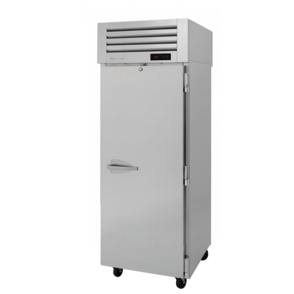 Turbo Air PRO-26H-PT PRO Series Pass-thru Solid Door Heated Cabinet, One-section