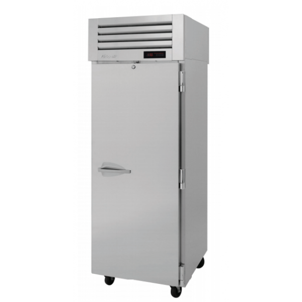 Turbo Air PRO-26H2 PRO Series Solid Door Reach-in Heated Cabinet, One-section