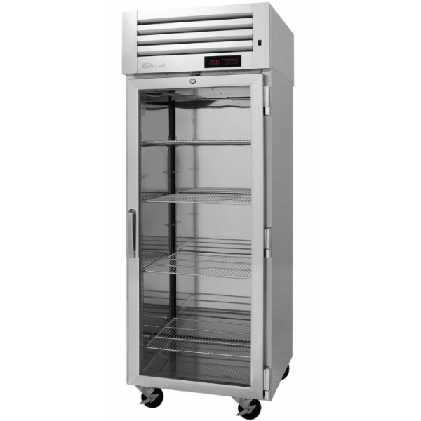 Turbo Air PRO-26H2-G PRO Series Glass Door Reach-in Heated Cabinet, One-section