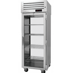 Turbo Air PRO-26H2-G-PT PRO Series Pass-thru Glass Door Heated Cabinet, One-section