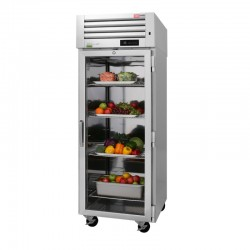 Turbo Air PRO-26R-G-N PRO Series Glass Door Refrigerator, Reach-in, One-Section