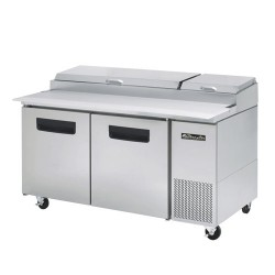 Blue Air BAPP67 Pizza Prep Table 2 doors  Refrigerator